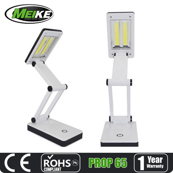 Cob Folding Work Light Touch Dimmable Reading Table Lamp Foldable ...