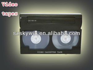 video blank cassette tape FOR shenzhen