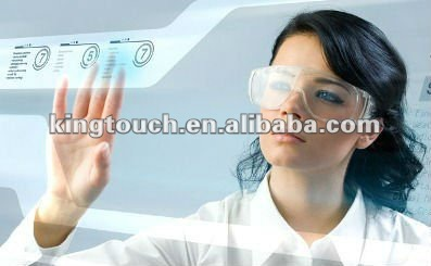 "50"" Projected capacitive Interactive Touch Foil Film"