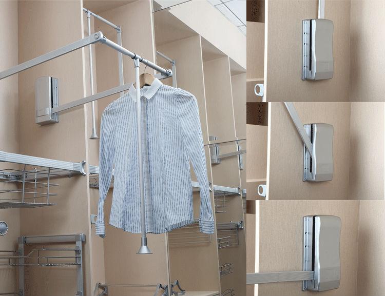 Pull Down Clothes Rail Buy Clothes Rail Storage Wardrobe