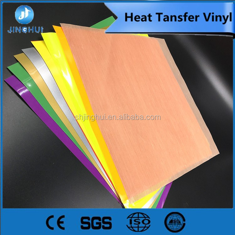 professional sell in amazon pu or pvc HTV use Customized popular Heat transfer vinyl
