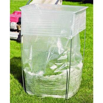 Folding Or Portable Garbage Bag Holder And Stand