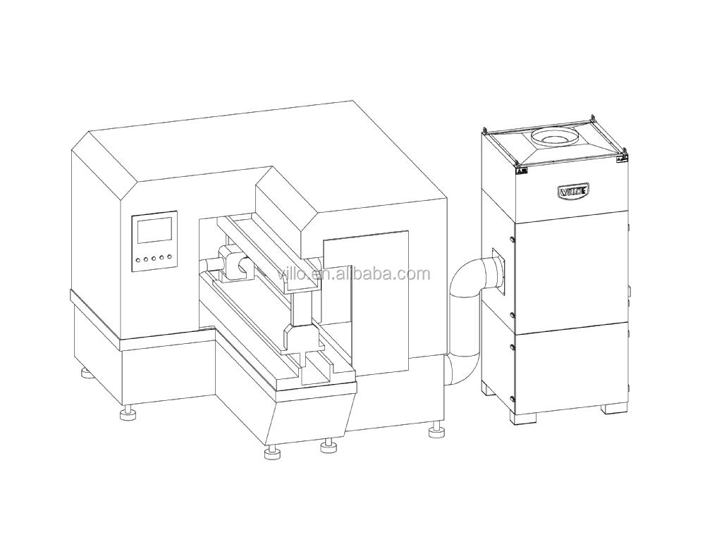 415v Three Phase 2200 Watt Portable Dust Collector Machine