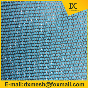 metallic yarn Mesh Fabric for making hat for cap 100%nylon mesh fabric