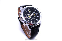 HD 1080P IR Night Vision Mini Leather Watch Web camera Camcorder