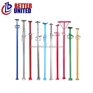 Painted adjustable scaffolding steel shoring props,scaffold props
