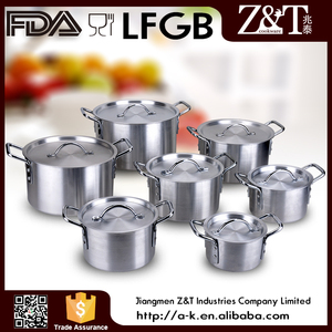 Kitchen item large aluminum camping cooking pot