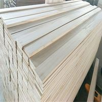 cedar siding solid wood board paulownia finger joint wood timber battens panel finger joint wood