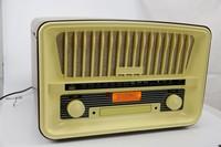 Nostalgic wooden turntable + DAB radio + CD recorder + USB Cassette player