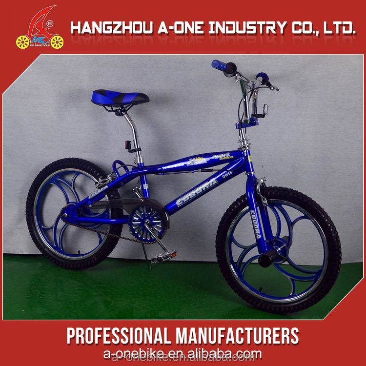 Modern promotional advertising mini freestyle bicycle for sale