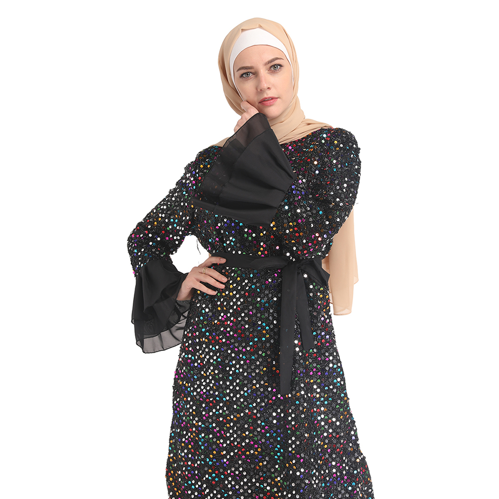 2019 new modern wholesale price young women EID Muslim clothing