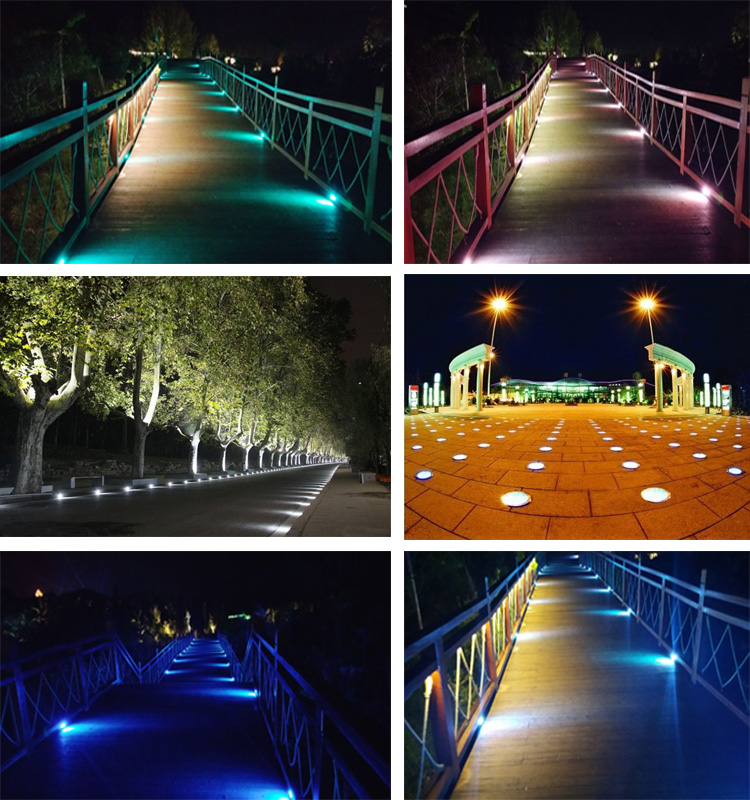 Waterproof IP65 9w outdoor LED underground lamp