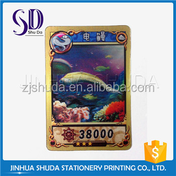 Good Printing Flip Colorful High End Top Quality Card Game Printing