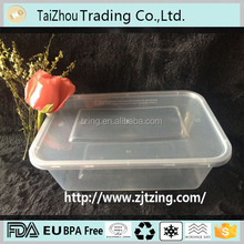 Manufacturer support useful plastic food container/disposable food box/food packaging tray