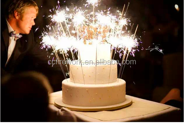 Electric Sparklers Fireworks Magic Birthday Candle Wedding
