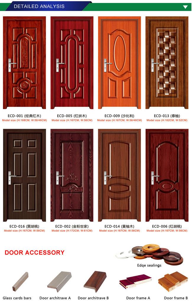 Hot Sale Interior Door Decoration House Door Skin Panels