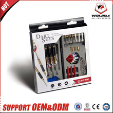 WINMAX Professional Steel & Soft Tip Darts with Aluminum Alloy Shaft Needle Nice Packing Gift Box Darts Set