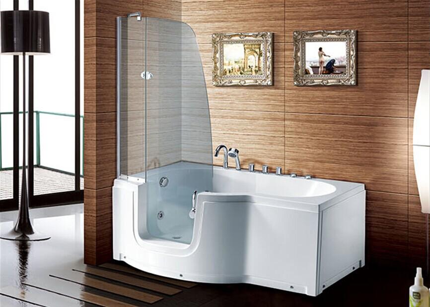 Hs b a acqua vasca idromassaggio passeggiata in vasca doccia