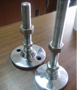 New Metal Feet Stainless Steel Table Leveling Leveler For Conveyor - 4 foot stainless steel table