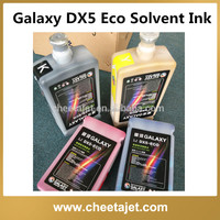 original universal galaxy eco solvent ink for galaxy dx5 head inkjet printer UD-181LA UD-2112LA UD-3212LA