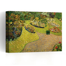 Art Wall The Road by Vincent Van Gogh Gallery Wrapped Canvas