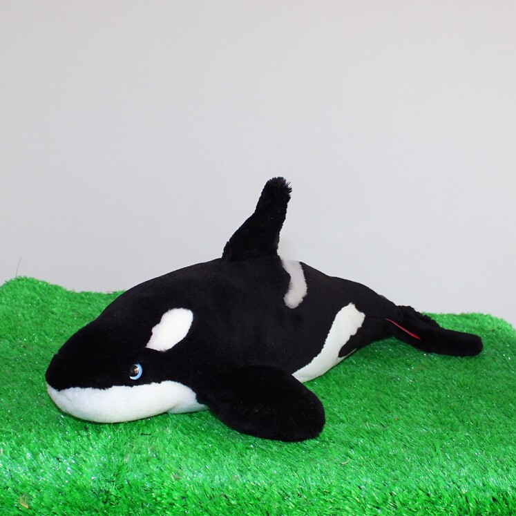 100 High Grade Pp Cotton Lifelike Design Custom Giant Killer Whale