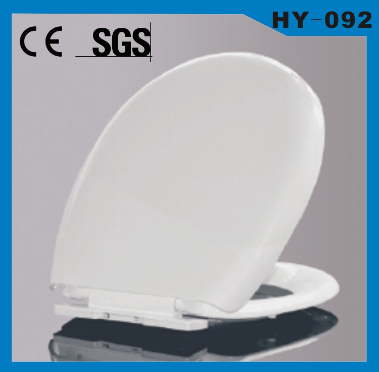 PP material soft close toilet seat OEM CE/SGS/ISO plastic toilet cover WC