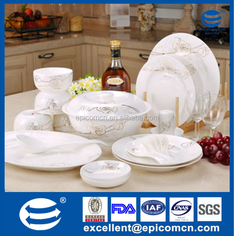 bone china dinner set royal dinner set gold flower circle dinner set