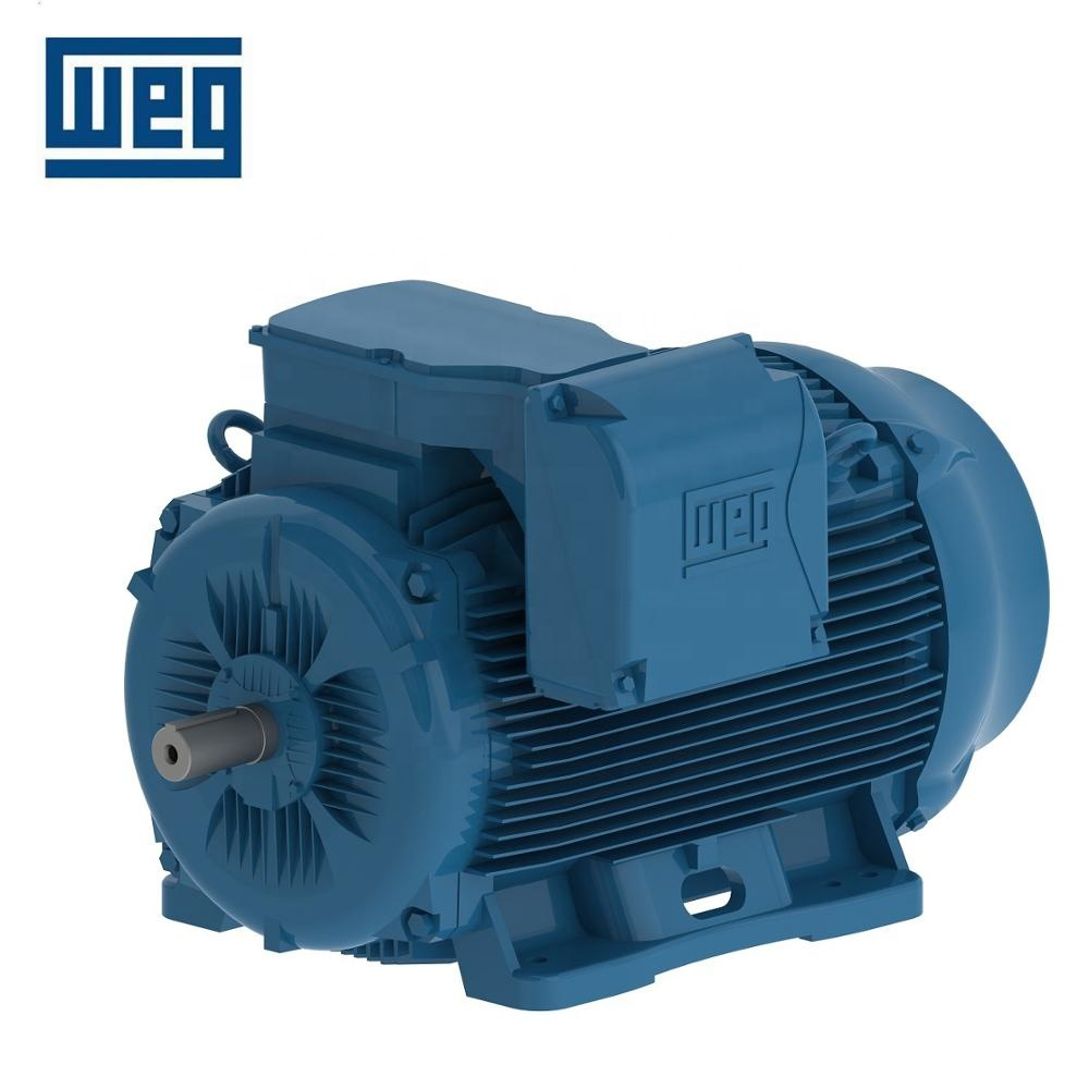 WEG W22 Series Motor 0.37 ~ 315 kW 90KW 125HP IE2 4P High ...