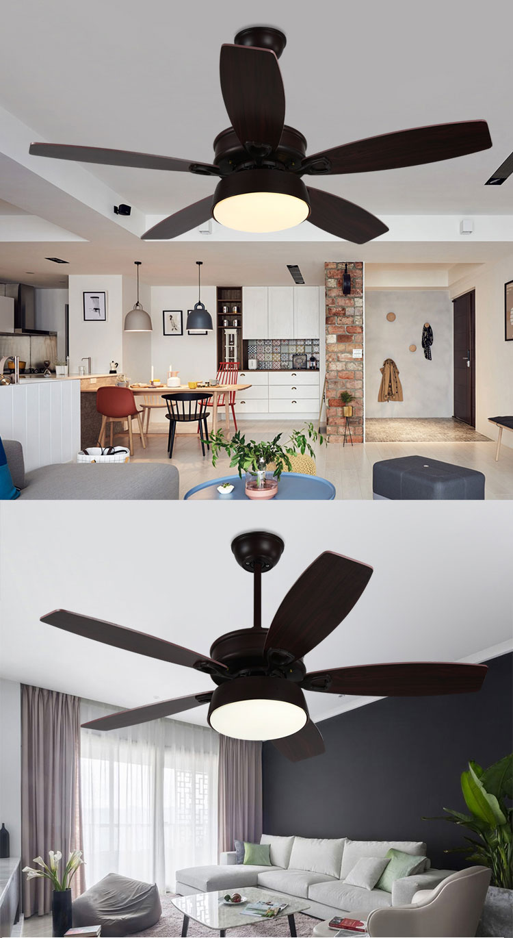 2018 non electric ceiling fan 3 blades abs fan indoor Chandeliers