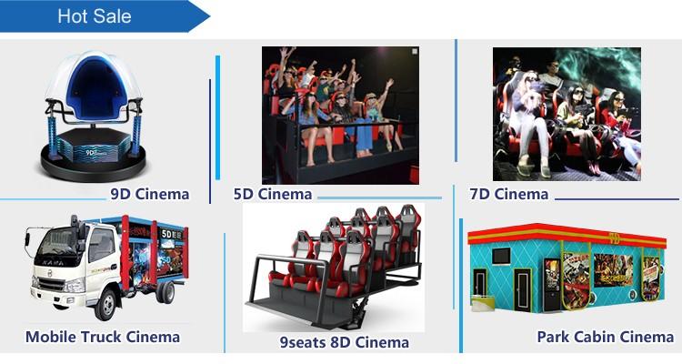 52eba4f9fe1 Dynamic 3 Seat Egg Design VR Egg Cinema VR Cinema car r With Wonderful 9D  Movies