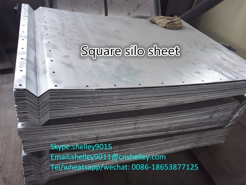 Carbon Steel Square Silo For Flour Storage