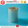 clear with silicone coating PET plastic relise film in roll for pet label