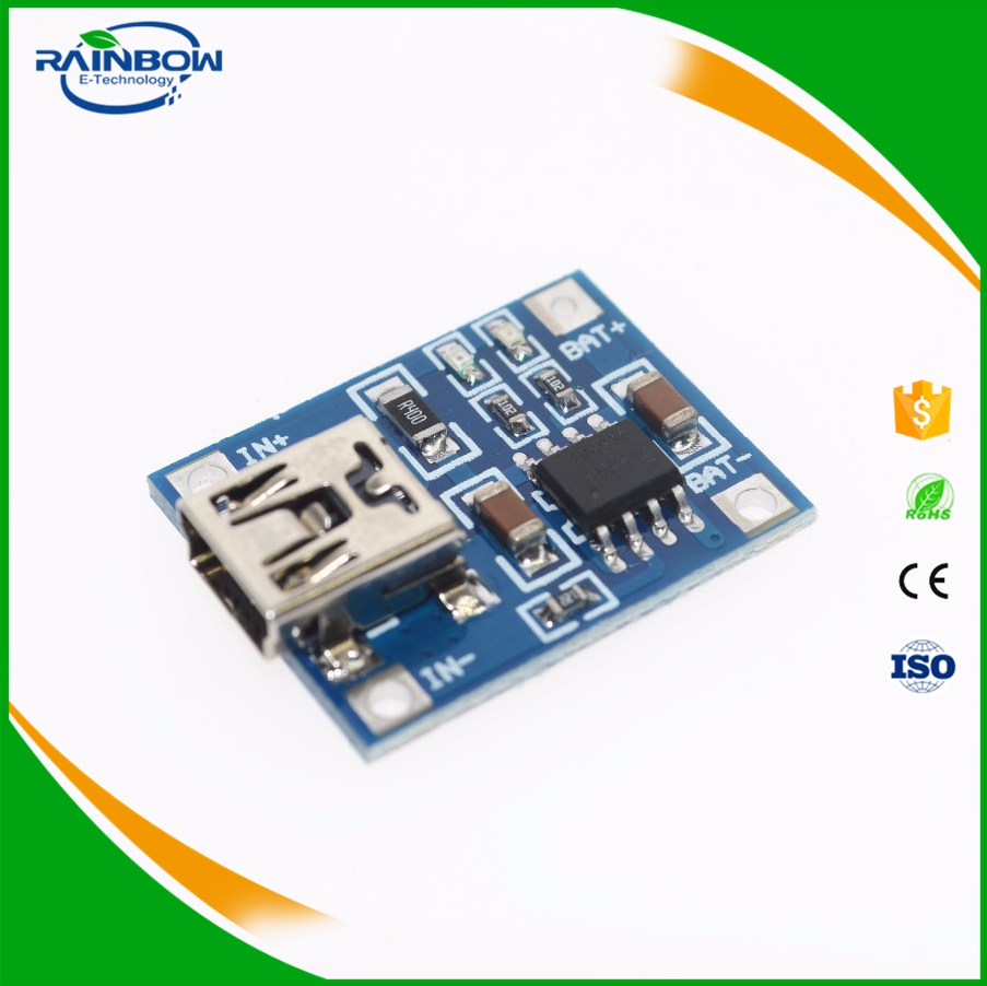 TP4056 5V 1A Lithium Battery Micro USB Convert Port Charging Board Module Lipo Battery Charger Module TP4056