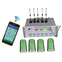 12V Solar wireless traffic light controller with vehicle actuated and green wave