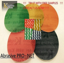 Abrasive Mesh Sanding Disc same quality as Mirka Abranet with Nylon backing