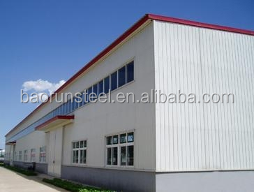 modular steel structure house for camp portable building & mobile steel building workshop plant