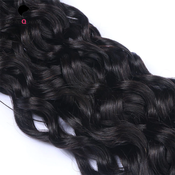 100% Unprocessed water wave best wholesales virgin hair bundle raw hair weft
