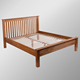 903 Range 100% Solid Oak Twin Bed/Wood Bed/5' Bed