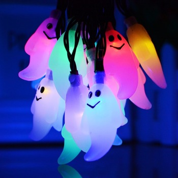 China Factory Supply Led Ghost Light Commercial Halloween Decorations