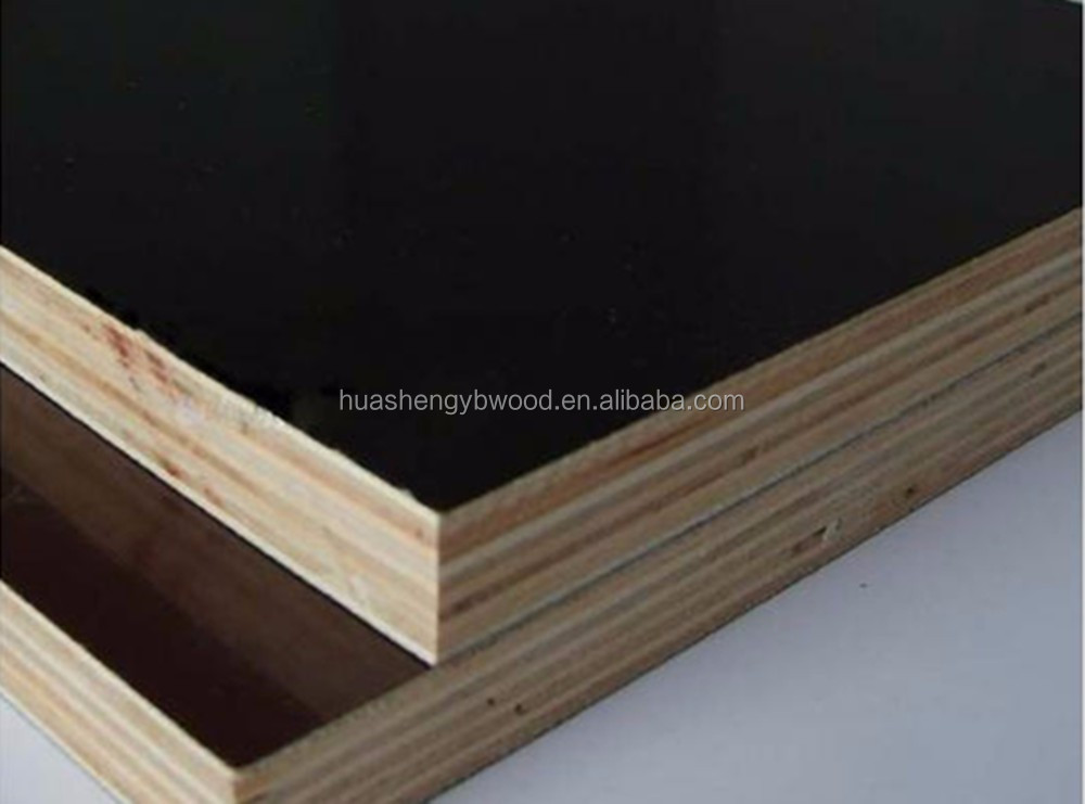 Materiales de construcci n 18mm pel cula marr n negro hoja contrachapada lamo core barato - Material construccion barato ...