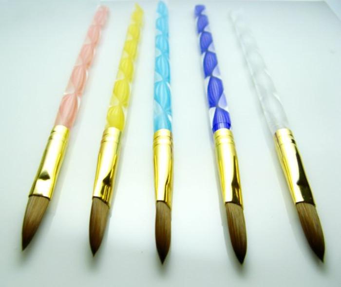 Professional kolinsky acrylic nail brush, View acrylic nail brush ...