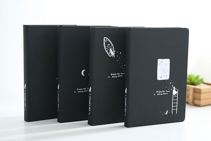 Wholesale Stock Small Order DIY Photo Album Black Notebook