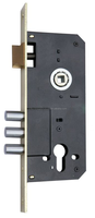 Mortise door lock body for sliding wooden interior door with 45 backset, 85 hole center, 9052-3