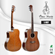 factory direct wholesale satin finish korea sapele acoustic guitar