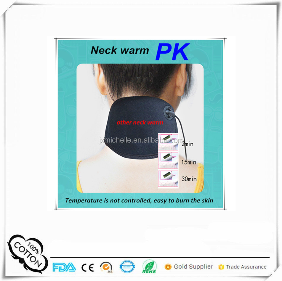 2017 new products health care heated neck warmer for wholesale