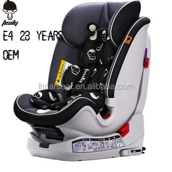 New Baby To 6 Years Old Isofix Install Swivel Baby Car Seat 1 Year