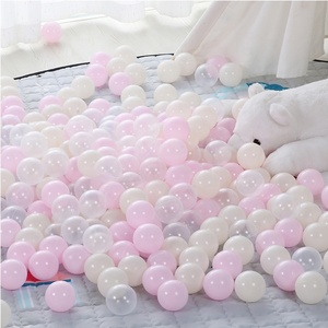 wholesale promotion 5000 cheap bpa free crush proof ocean ball color mixing plastic ball pit balls colorful for sale