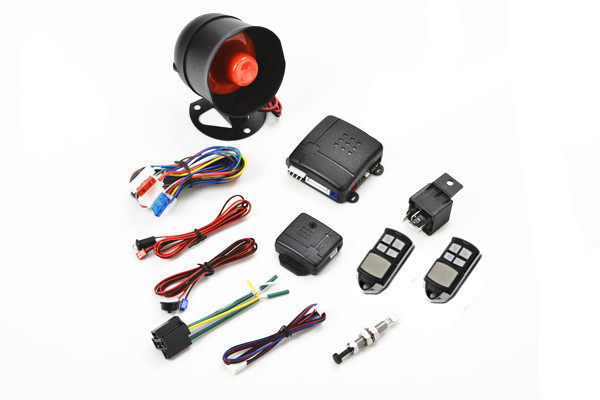 Hot selling cheap car alarm with anti-hijacking trunk release function