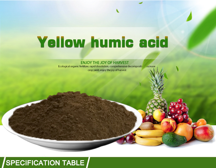 80% Fulvic Acid Organic Fertilizer Powder Bio Fertilizer
